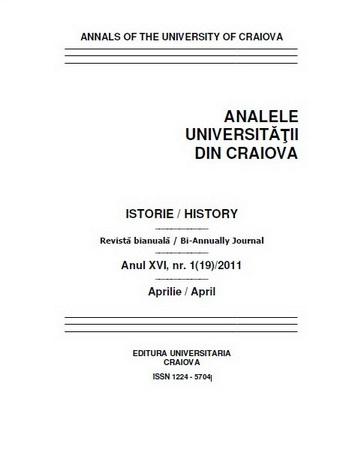 Analele Universitatii din Craiova. Istorie