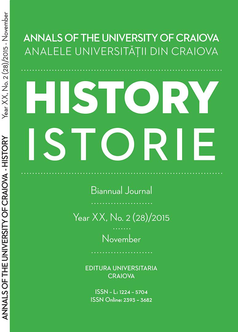 ULTIMUL NUMĂR Anul XX, No.2(28)/2015