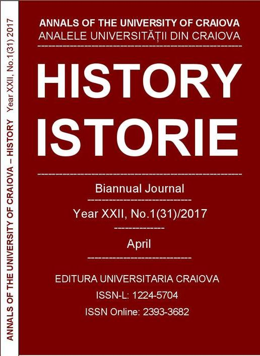 ANNALS OF THE UNIVERSITY OF CRAIOVA Year XXII, No. 1(31)/2017