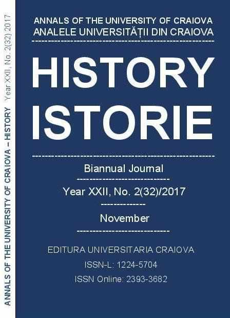 ANNALS OF THE UNIVERSITY OF CRAIOVA Year XXII, No. 2(32)/2017